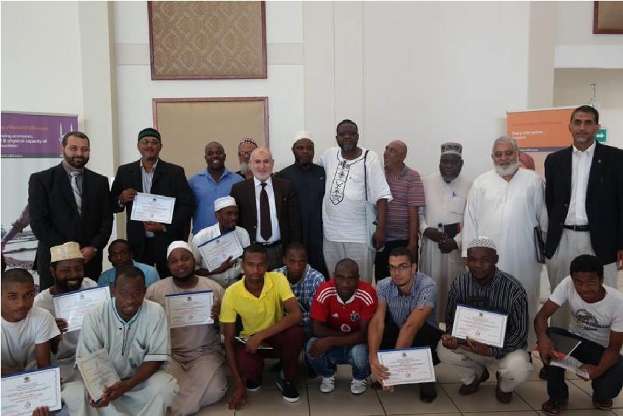 تقرير زيارة فريق وقاية الشباب الثالثة إلى جنوب افريقيا 2014