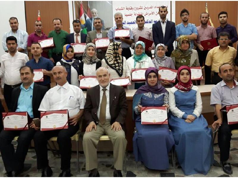 دورة إعداد المدربين الرابعة في السليمانية – كردستان 2016