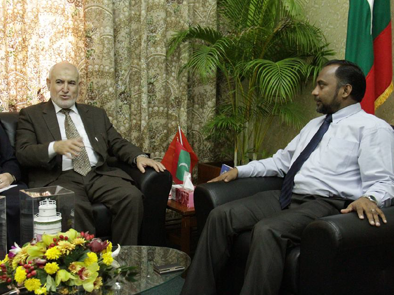 زيارة جزر المالديف بدعوة من معالي وزير الشؤون الاسلامية 2016