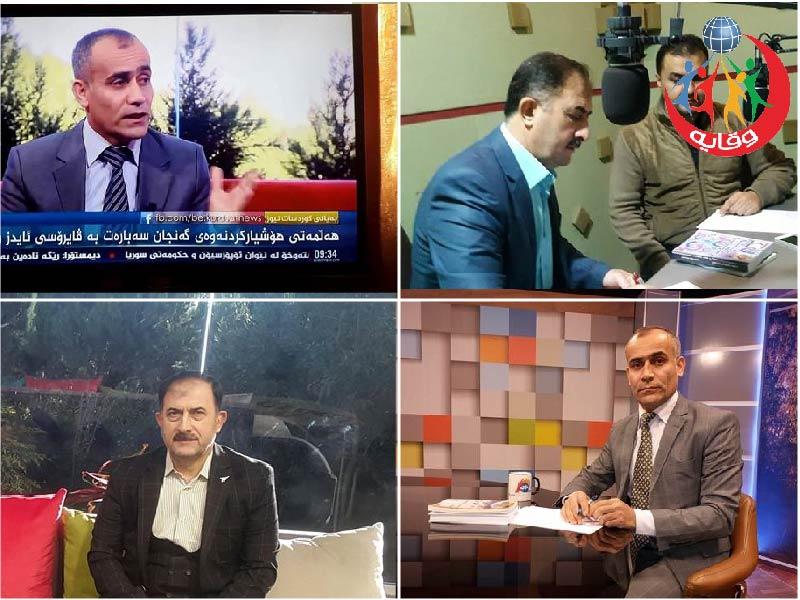نشاطات إعلامية لمدربين مشروع وقاية الشباب في السليمانية – كردستان 2017
