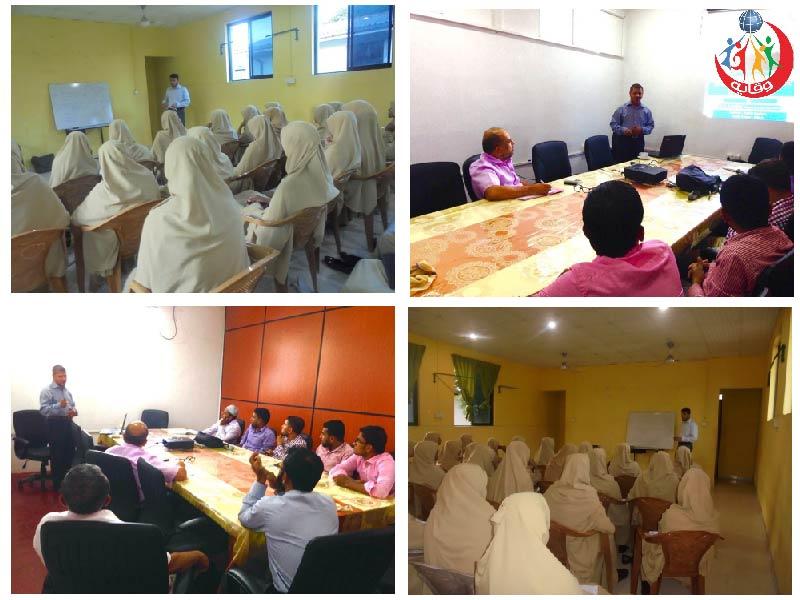 نشاطات مختلفة لمدربي مشروع وقاية الشباب في سريلانكا 2016