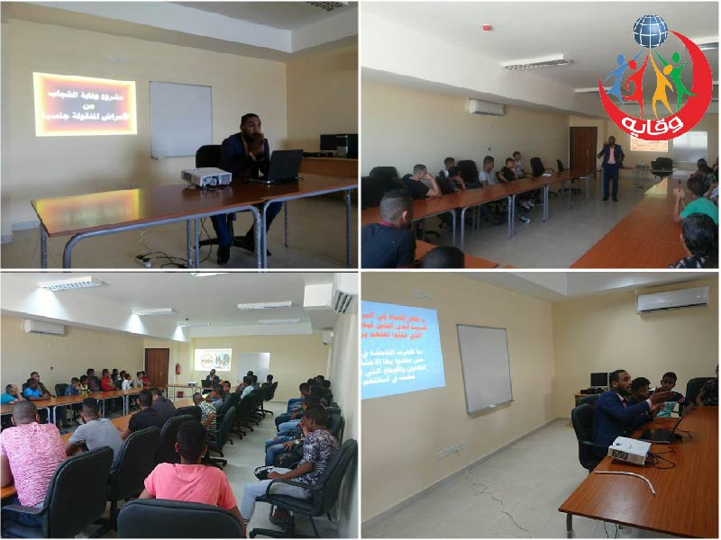 محاضرتين للاستاذ عودة الخطبا عضو فريق المدربين في مشروع وقاية الشباب في الأردن 2017