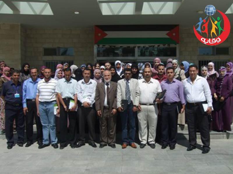 دورة حول وقاية الشباب في محافظة البلقاء في الأردن 2011