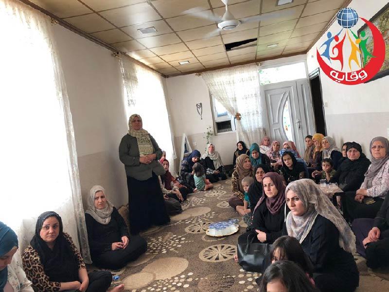 محاضرة حول وقاية الأبناء للمدربة لاولاو حسين في كردستان 2019