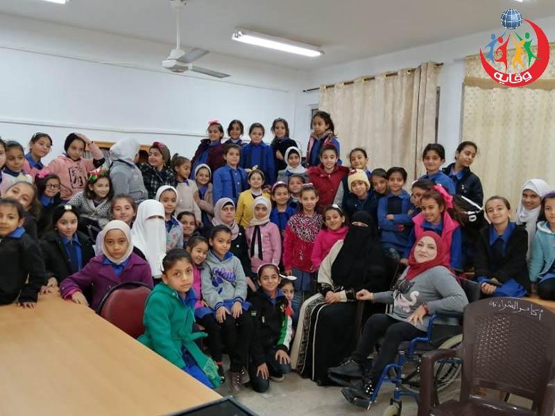 محاضرة للأطفال تقدمها المدربة سوزان العودات في إربد- الأردن 2019