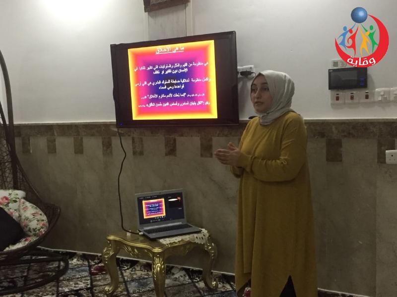 دورة لطالبات الجامعات حول الوقاية من الأمراض المنقولة جنسيا في دهوك – كردستان 2019