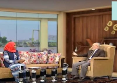 مقابلة قناة طيبة الفضائية مع الدكتور عبدالحميد القضاة للحديث حول مشروع وقاية الشباب 2019