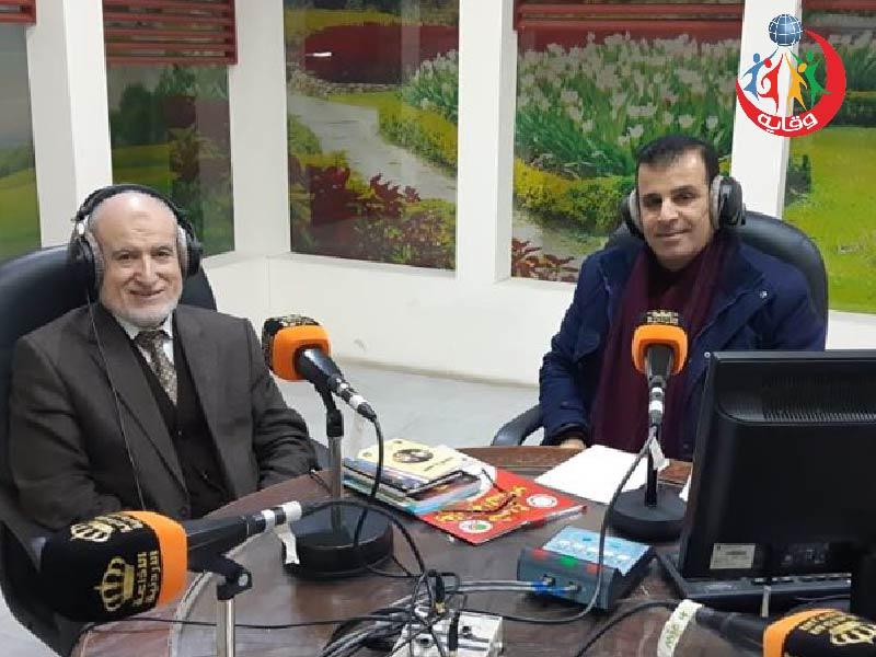استضافة إذاعة إربـــد الكبرى للدكتور عبدالحميد القضــاة للحديث حول مشروع وقاية الشباب 2020