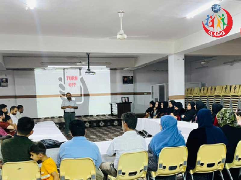 محاضرة للمدرب إسماعيل محمد إبراهيم حول التثقيف الجنسي للأبناء في كردستان -2021