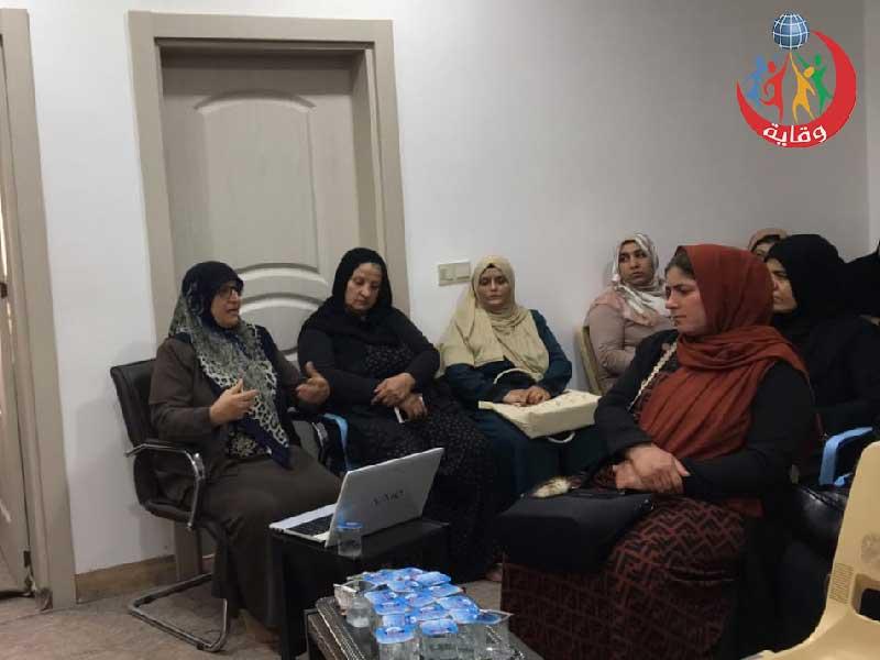 محاضرة للمدربة لاولاو حسین من منظمة وقاية الشباب حول الوقاية من التحرش الجنسي في كردستان-2021