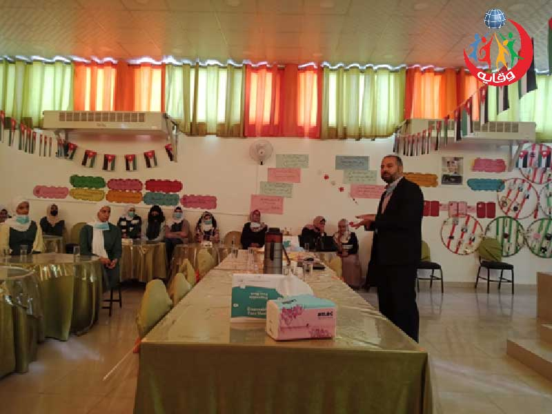 محاضرة حول وقاية الشباب من الإدمان على الأجهزة الإلكترونية الحديثة يقدمها د.عصام طراد في إربد- الأردن2021