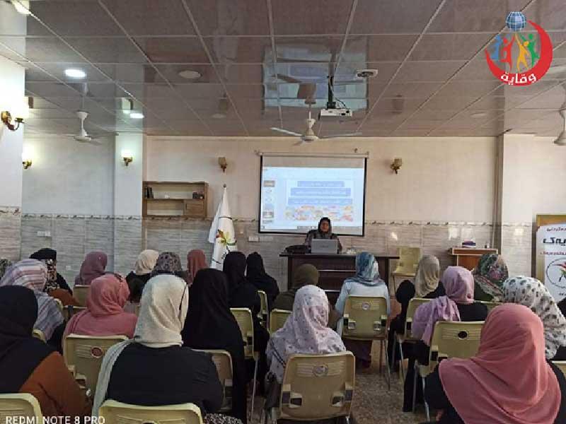 محاضرة حول الوقاية من التحرش الجنسي للمدربة لاولاو حسین في كردستان -2021